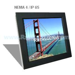 "17"" Front NEMA 4 / IP65 Protection LCD Panel - I3FP-17"