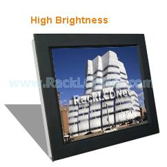 "19"" High Brightness and SunReadable Front Aluminum LCD Panel - I7FP-19"