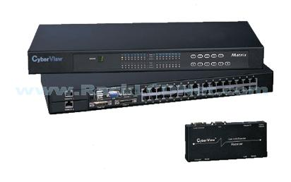 KSA Rackmount KVM Switch