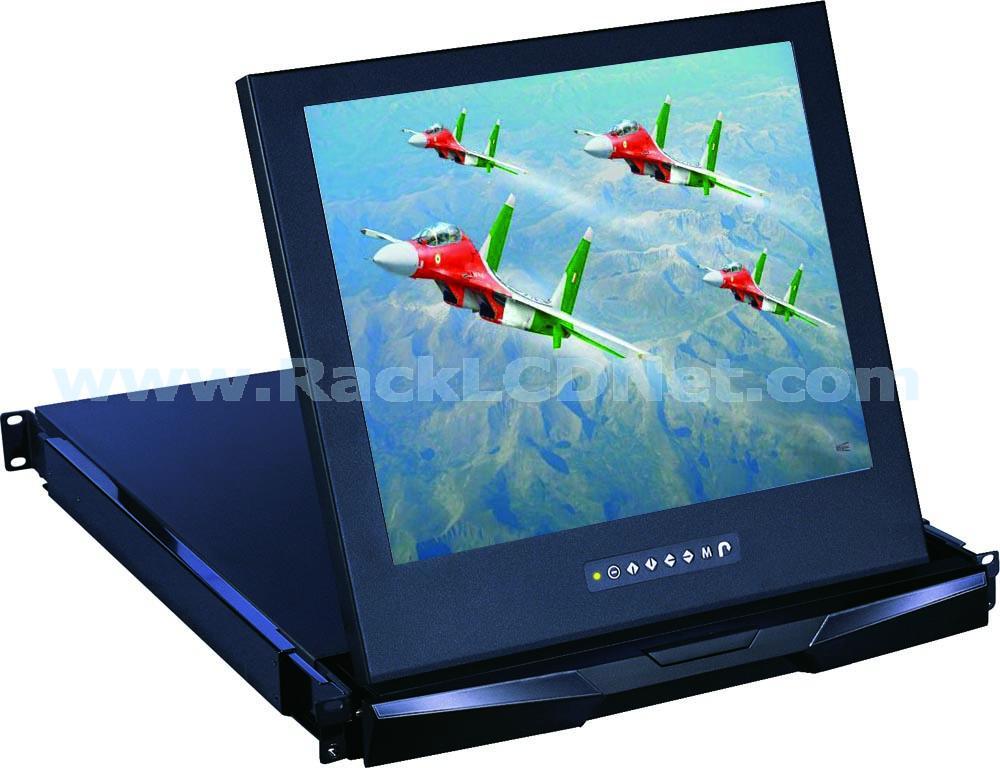 LM1RPD-17 1U Short Depth LCD Drawer