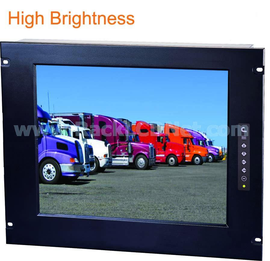 "7U 17"" Rack Mount High Brightness LCD Display - LM7P-17H"