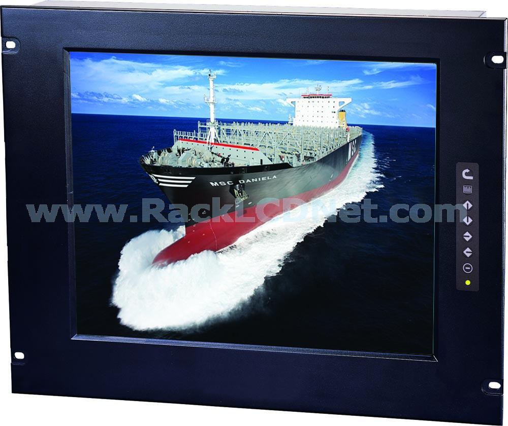 "7U 17"" Rack Mount LCD Display Panel - LM7RP17"