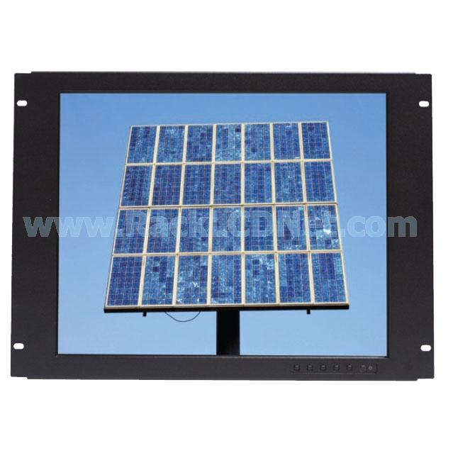 "8U 19"" Rack Mount LED Backlight LCD Display with DVI-D Digital Input - LM8P4N-19"