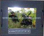 "8.4"" Military Grade Ultra Rugged Panel Mount LCD Display - MLDA-840"