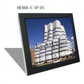 "19"" Front NEMA 4 / IP65 Protection LCD Panel - I3FP-19"