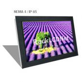 "19"" Widescreen Front NEMA 4 / IP65 Protection LCD Panel - I3FP-19W"