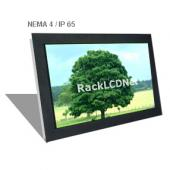 "22"" Widescreen Front NEMA 4 / IP65 Protection LCD Panel - I3FP-22W"