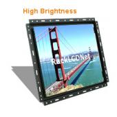 "17"" High Brightness & SunReadable Open Frame LCD Panel - I4FP-17"
