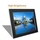 "12.1"" High Brightness and SunReadable Front Aluminum LCD Panel - I7FP-12"