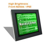 "10.4"" High Brightness and SunReadable Front NEMA 4 / IP65 Protection LCD Panel - I8FP-10"
