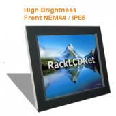 "12.1"" High Brightness and SunReadable Front NEMA 4 / IP65 Protection LCD Panel - I8FP-12"