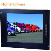 "7U 17"" Rack Mount High Brightness LCD Display - LM7P-17H"