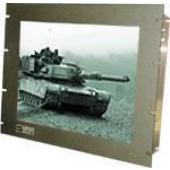 "19"" Military Grade 9U Rack Mount LCD Flat Panel Display - MA-RP919"