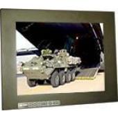 "19"" Military Grade NEMA 4 (IP65) Panel Mount LCD Display - MLDA-1900"